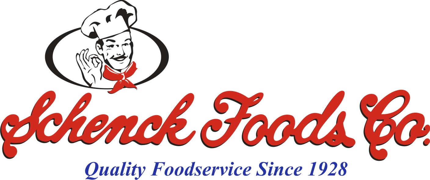 schenck foods new logo text man only hi res